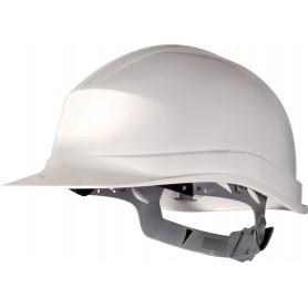 Casque de protection chantier avec serrage glissière