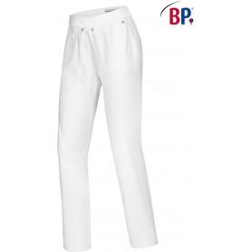 Pantalon médical stretch, taille élastiquée