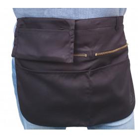 Tablier de Serveur, 2 poches zippées