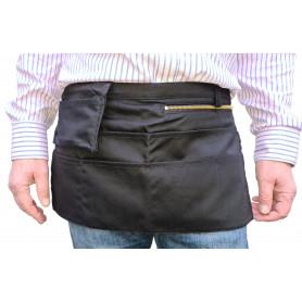 Tablier de Serveur, sans monnayeur extractible, 1 poche zippée