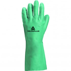 Gant de ménage nitrile vert