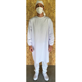 Surblouse médicale et agroalimentaire COVID